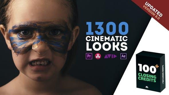 LUTs颜色预设包| 电影外观– Premiere Pro V8(6月9日更新)插图