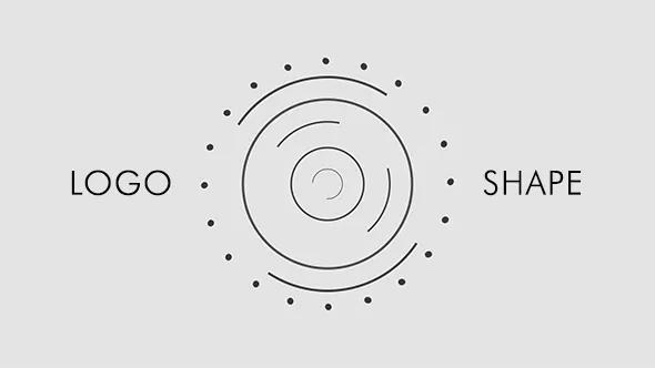 AE模版新形状徽标形状转场