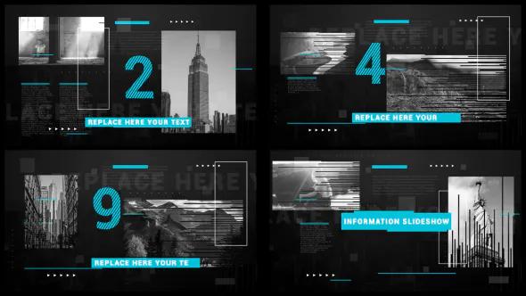 AE模版大片电影开场黑暗动态动作电影标题电影预告片