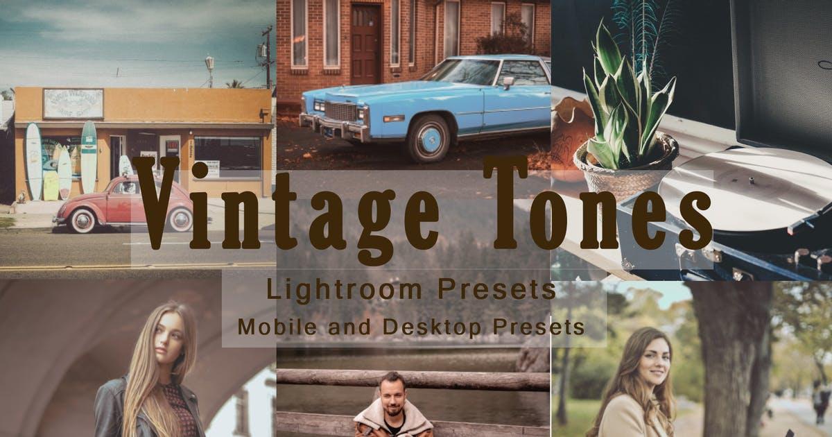 老式胶片复古色调-Lightroom预设手机版lr预设插图