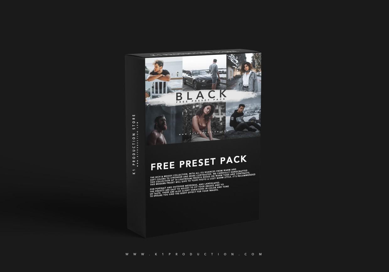 10个黑色预设哑光黑Lightroom预设手机版lr旅行摄影预设插图